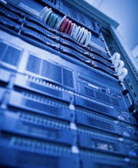 a server rack